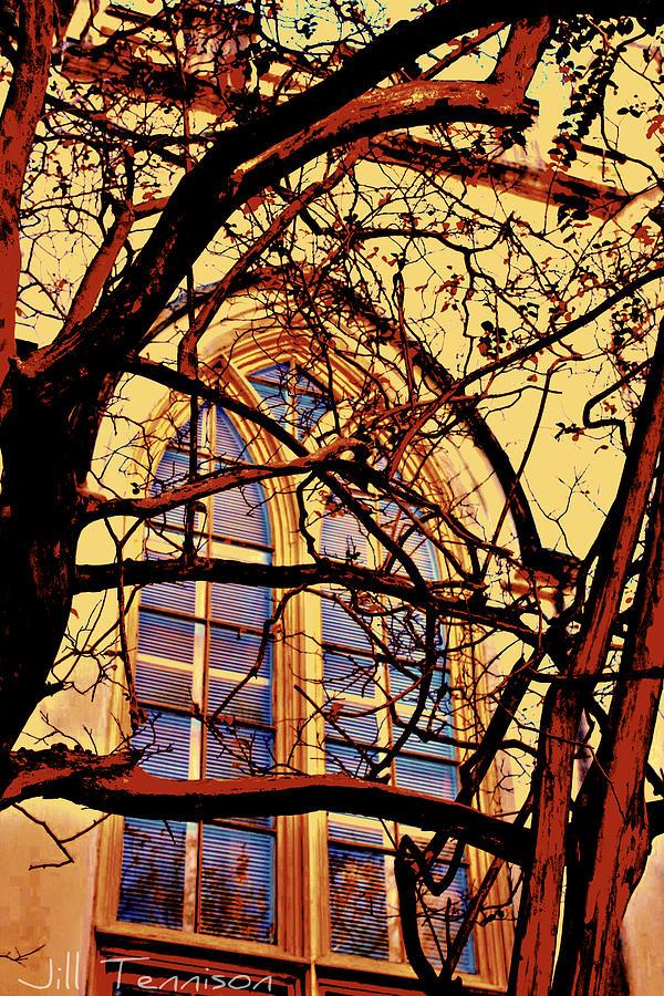 Window Photograph - Gothic Window by Jill Tennison