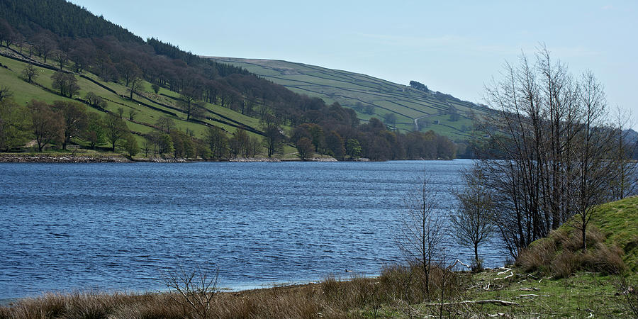 Water Photograph - Gouthwaite Reservoir by Steve Watson