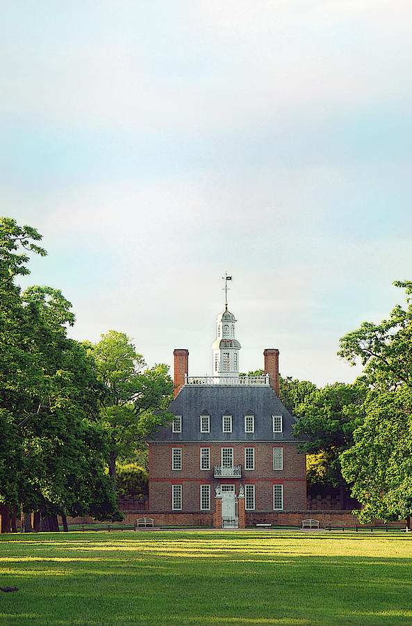 William And Mary Photograph - Governor Palace - Williamsburg by Panos Trivoulides
