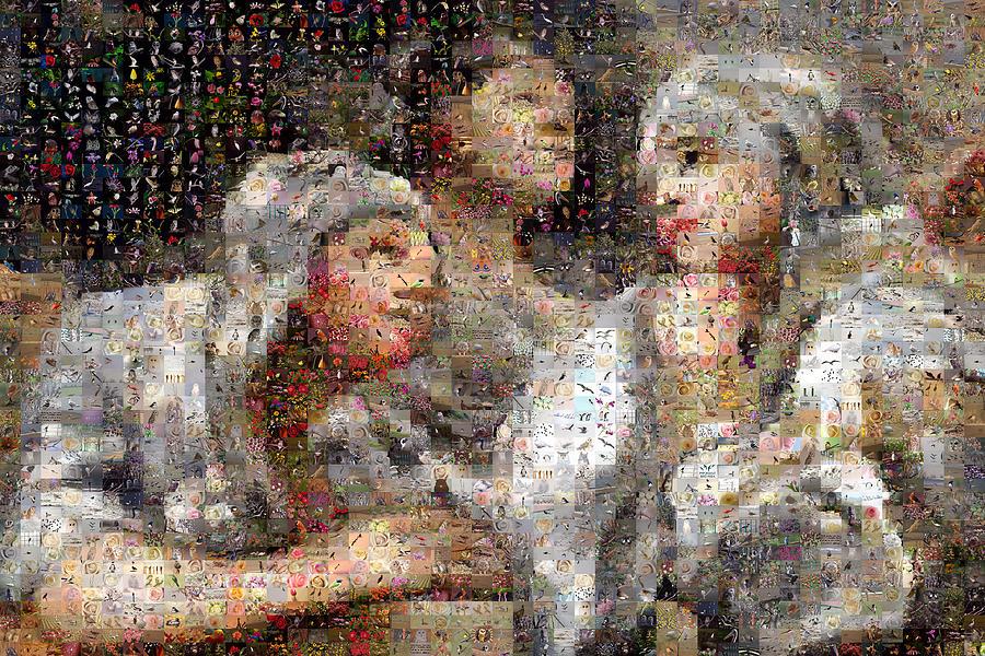 Mosaic Digital Art - Goyesque by Gilberto Viciedo