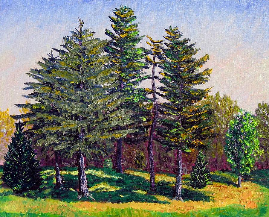 Blue Sky Painting - Gp 10-12 by Stan Hamilton
