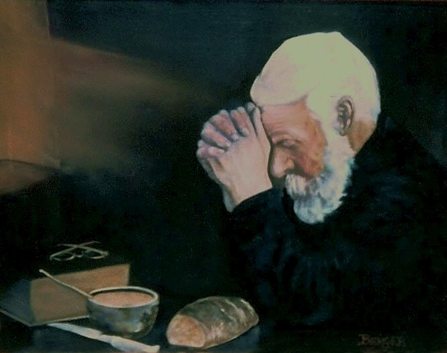 Prayer Painting - Grace After Enstrom by James Berger