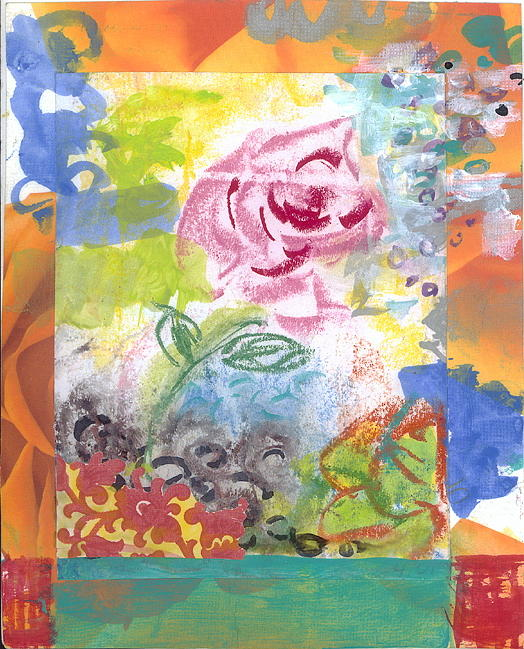 Abstract Painting - Grace by Gloria Von Sperling