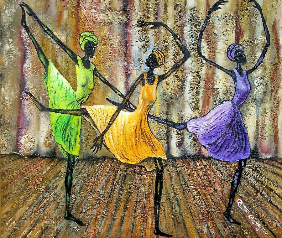 Ballet Painting - Grace II by Arthur Covington