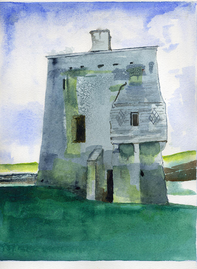 Grace O'Malley's Castle Clare Island by Kathleen Barnes