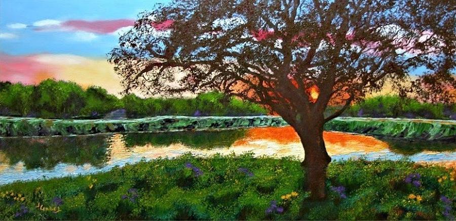 School Pastel - Grace Sunrise by Laura Gabel