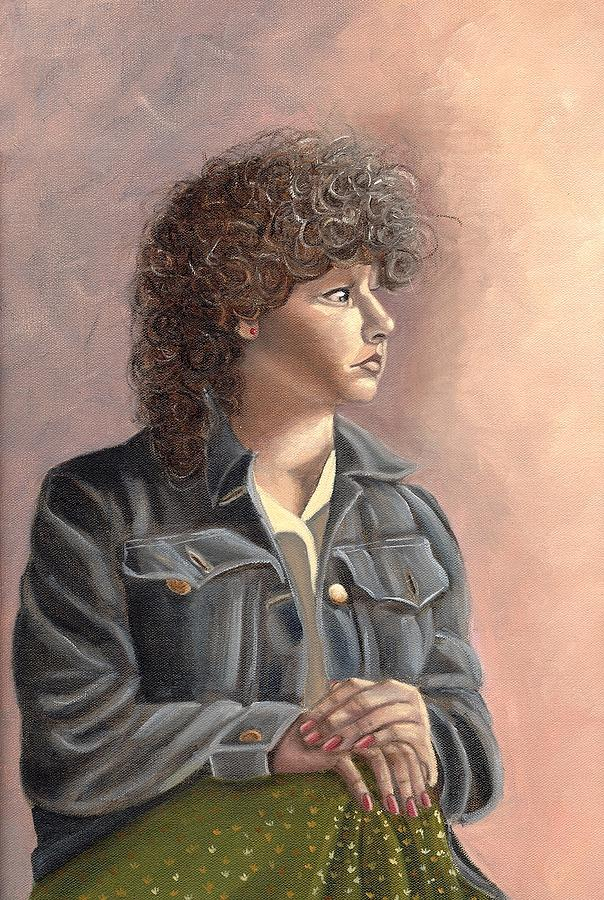 Grace Painting by Toni Berry