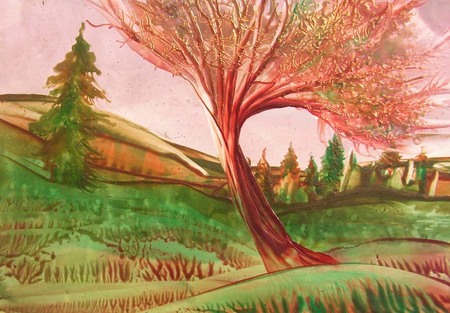 Landscape Painting - Graceful by John Vandebrooke
