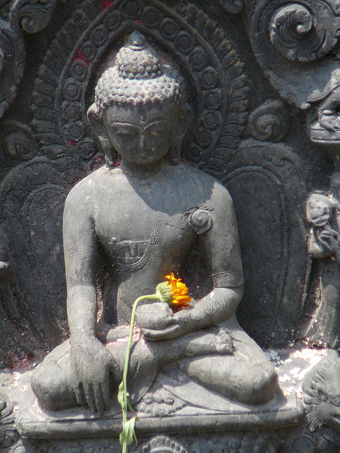 Buddha Photograph - Gracefulness by Dagmar Batyahav