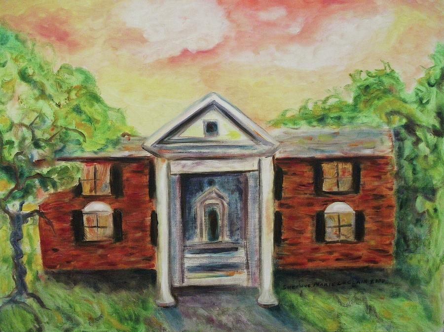 Graceland Painting - Graceland by Suzanne  Marie Leclair