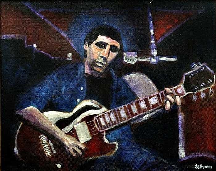 Graceland Tribute to Paul Simon Painting by Seth Weaver