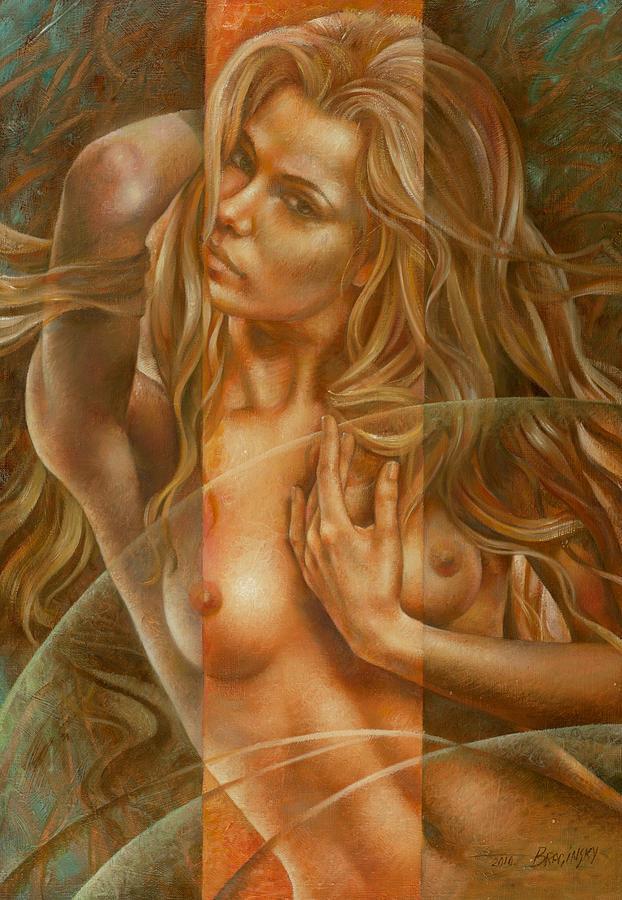Nudes Painting - Gracia3 by Arthur Braginsky