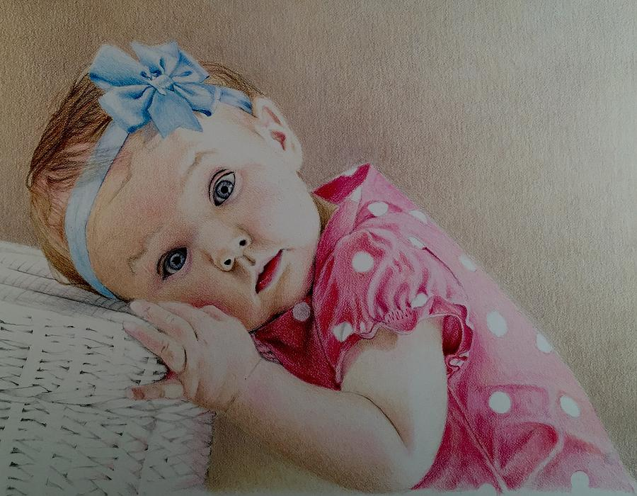 Portraits Drawing - Gracie by David Hoque