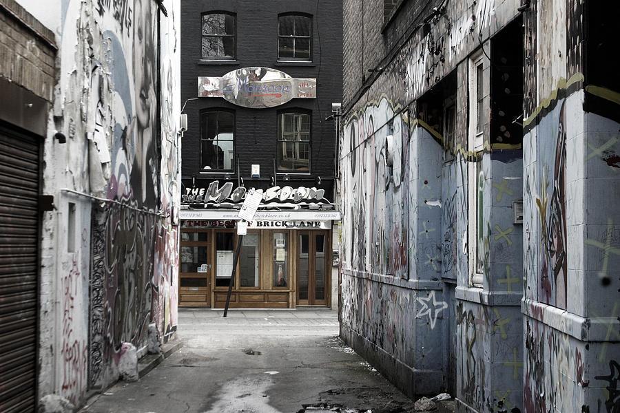Photographer Photograph - Graff Street by Jez C Self