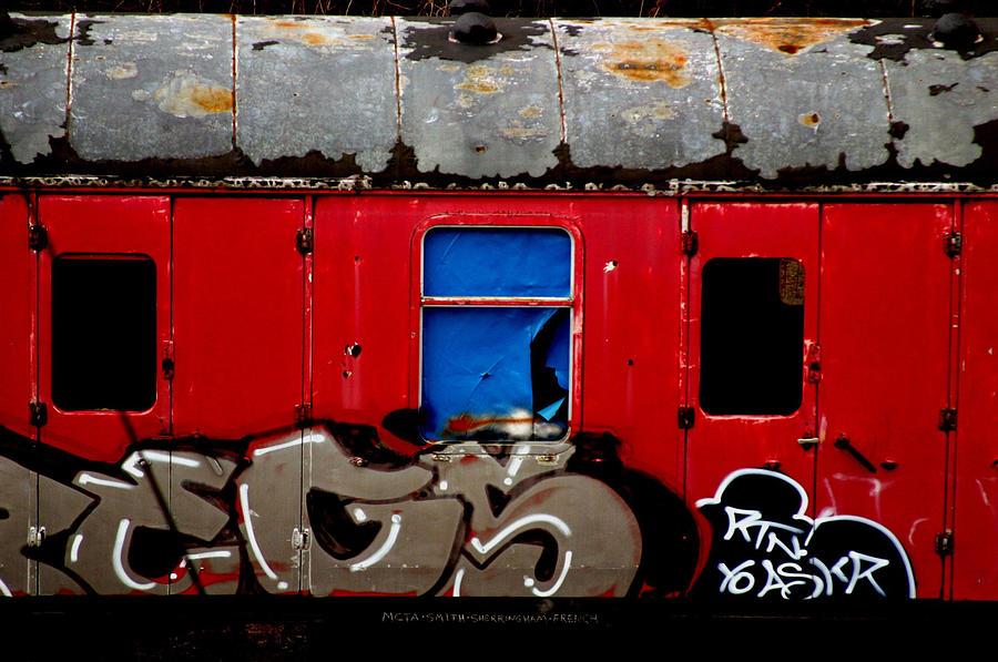 Photographer Photograph - Graff Train by Jez C Self