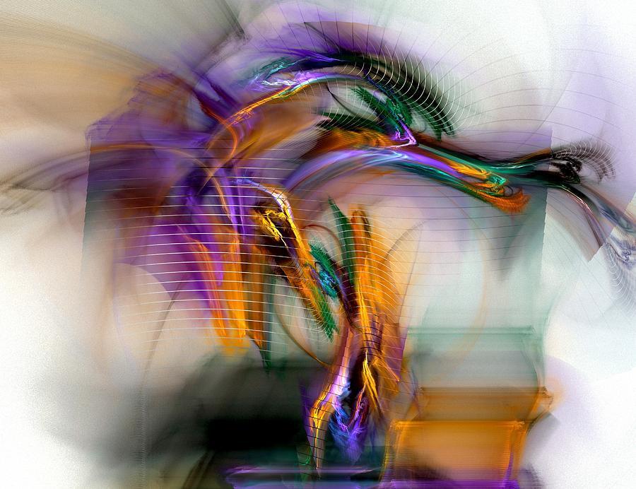 Graffiti Digital Art - Graffiti - Fractal Art by NirvanaBlues