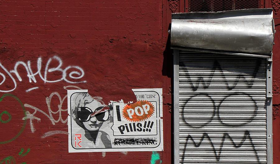 Graffiti Photograph - Graffiti 1 by Andrew Fare