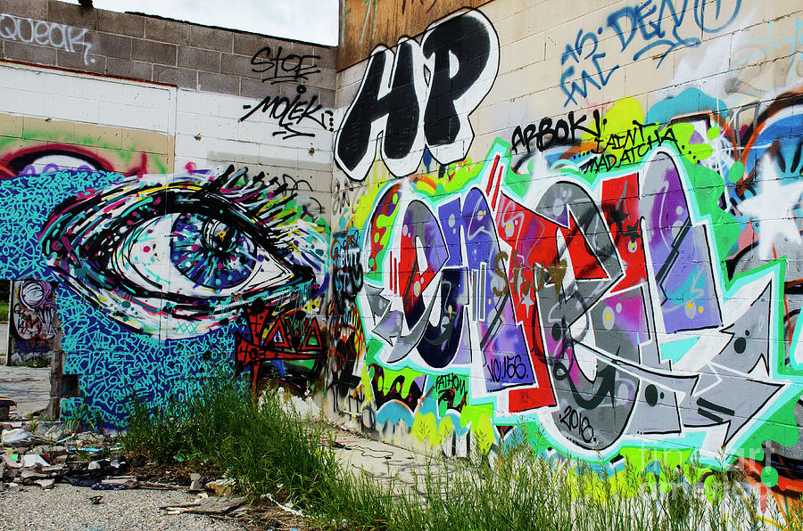 Graffiti Photograph - Graffiti 3 by Bob Christopher