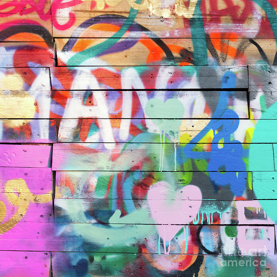 Graffiti Photograph - Graffiti 4 by Delphimages Photo Creations