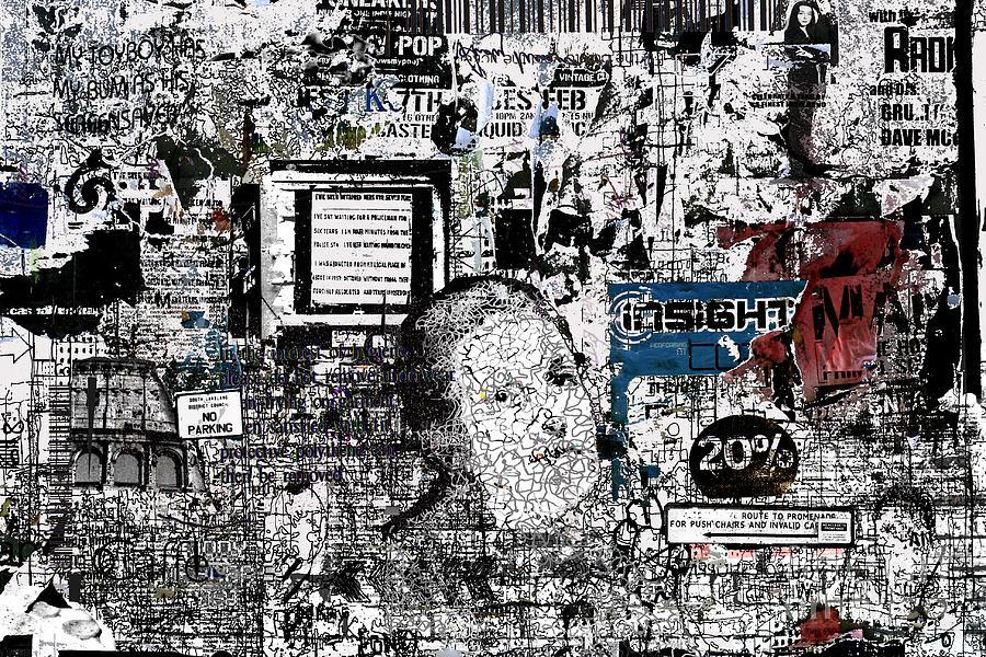 Graffiti Digital Art - Graffiti 6 by Andy  Mercer