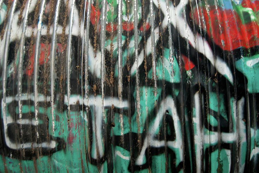 Graffiti Photograph - Graffiti Abstract 1 by Jani Freimann