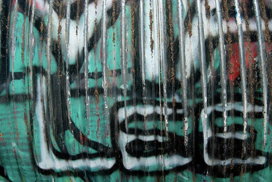 Graffiti Photograph - Graffiti Abstract 2 by Jani Freimann