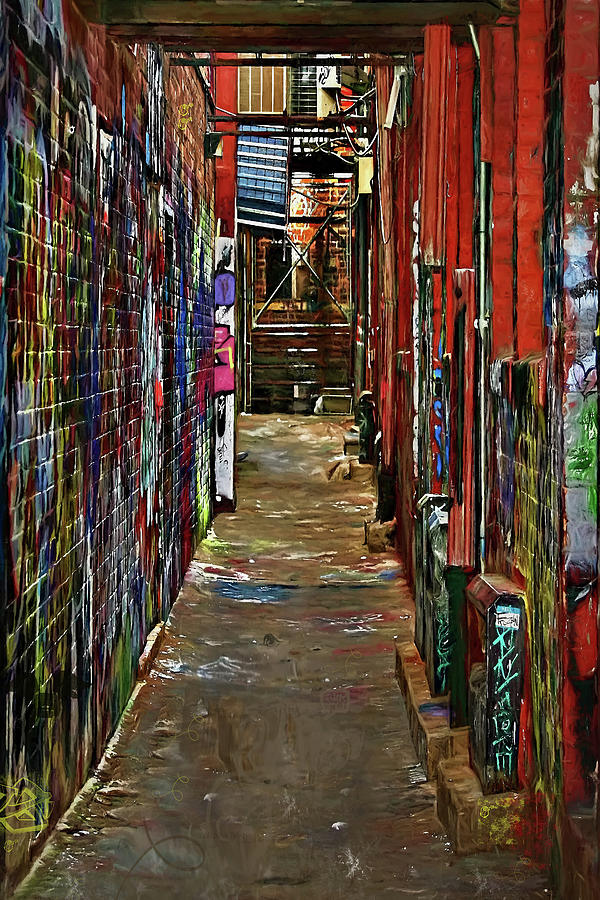 Graffiti Alley Photograph