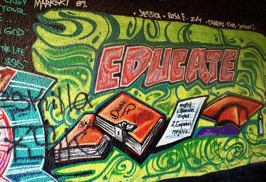 Graffiti Educates by Lorraine Devon Wilke