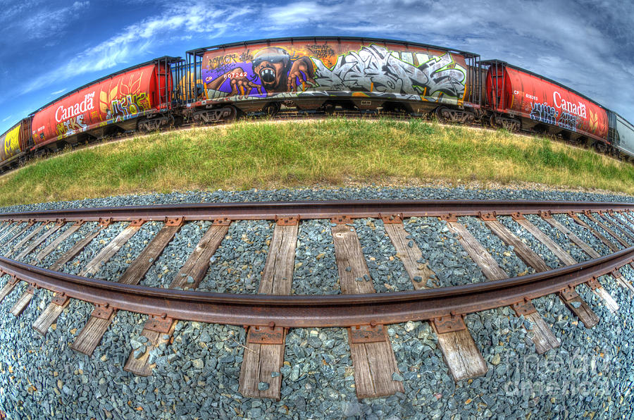 Graffiti Photograph - Graffiti Genius 2 by Bob Christopher