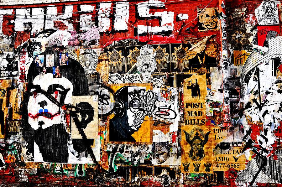 Graffiti in LA by Lyle  Huisken