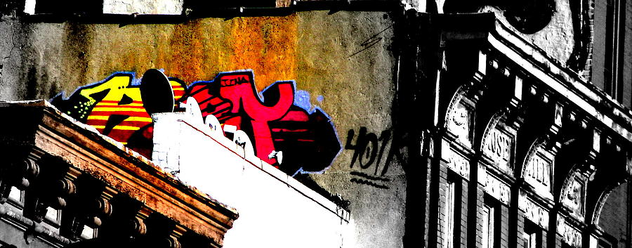 Graffiti Photograph - Graffiti by Oksana Pelts