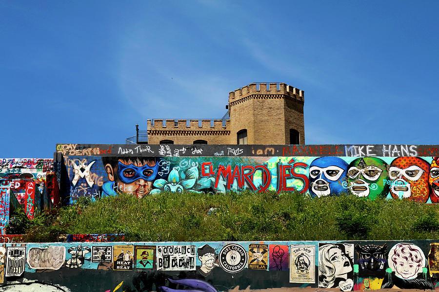 Graffiti Park At Castle Hill - Austin Photograph by Art Block ...