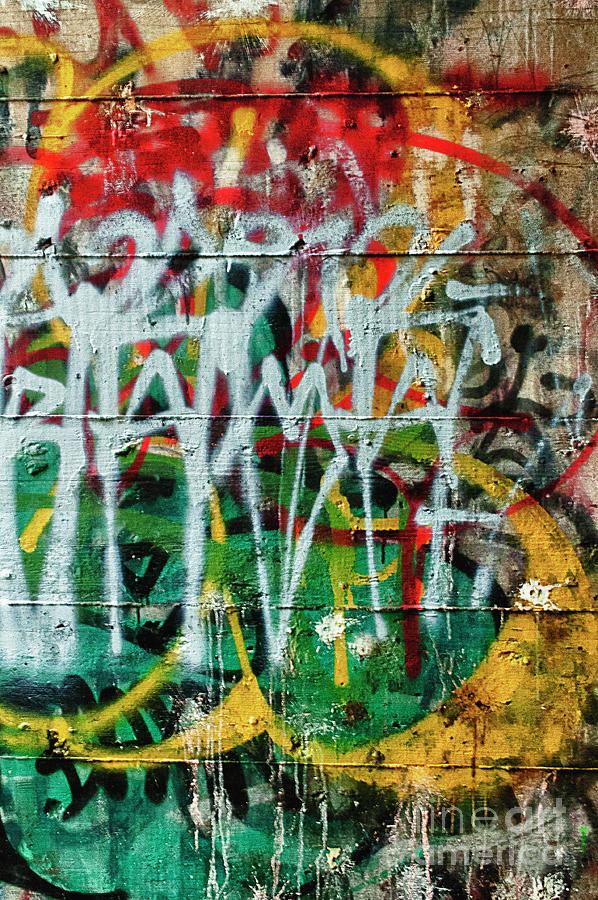 Graffiti Scramble by Terry Rowe