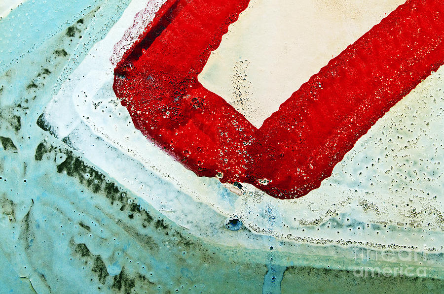 Abstract Photograph - Graffiti Texture IIi by Ray Laskowitz - Printscapes