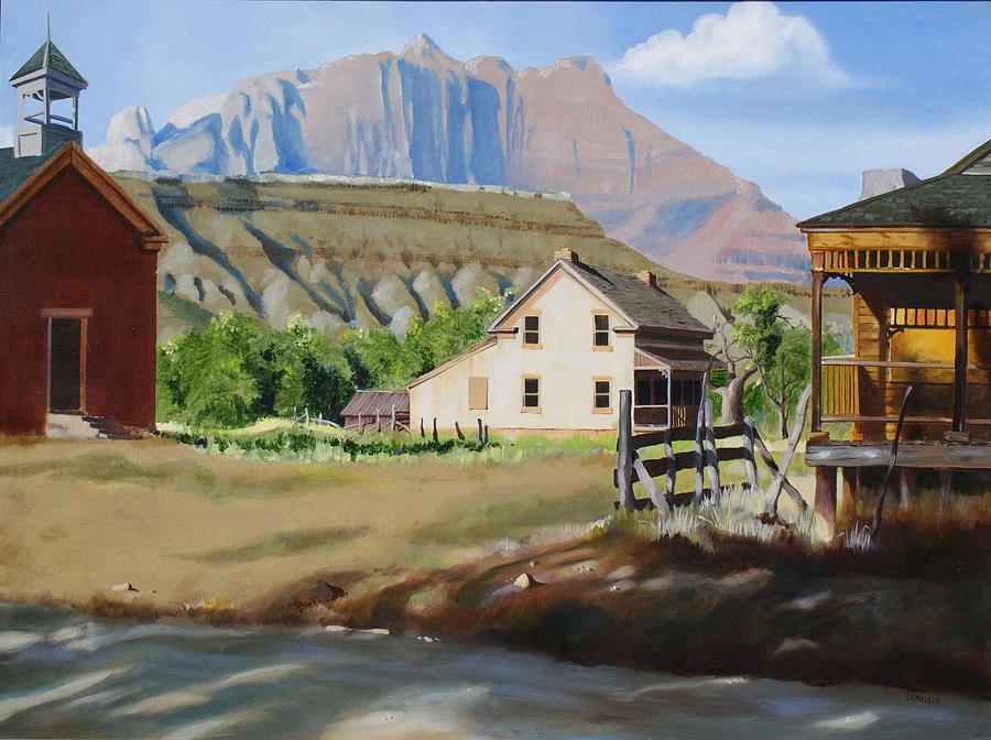 Grafton Painting - Grafton by Lester Nielsen