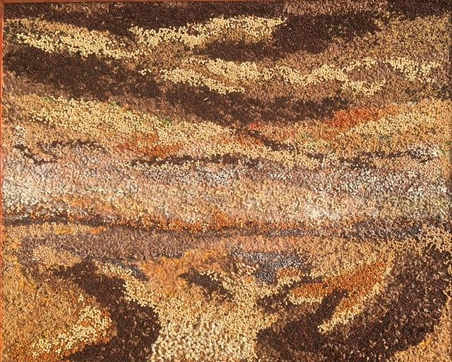Grains Painting Our Prairies III by Naomi Gerrard