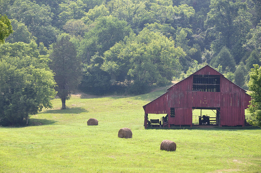 Landscapes Photograph - Grampas Summer Barn by Jan Amiss Photography