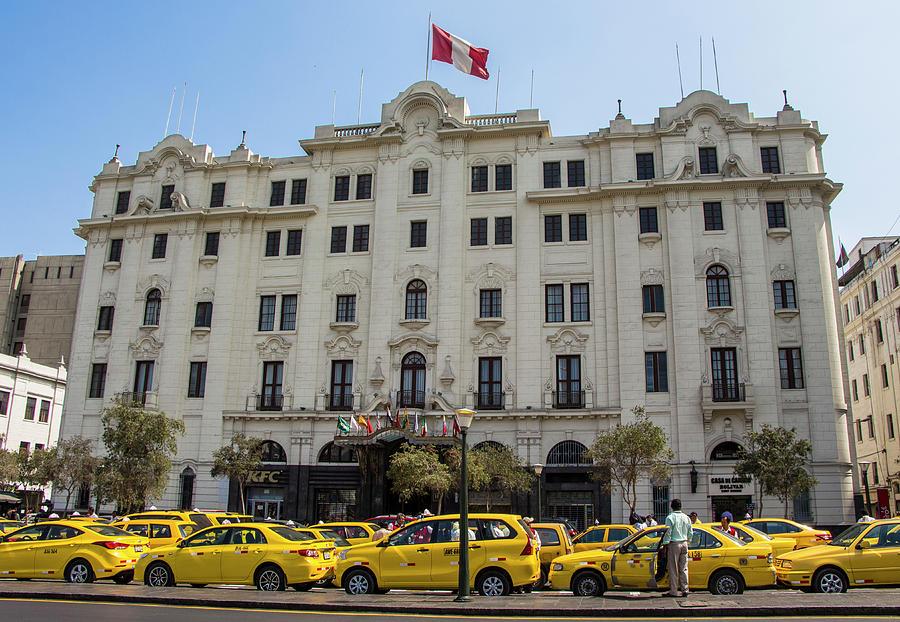 Gran Hotel Bolivar, Lima, Peru by Venetia Featherstone-Witty