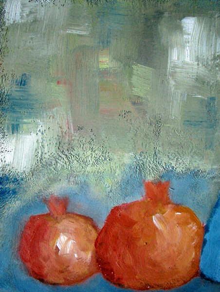 Granadas Painting by Emilio B Campo- Diaz