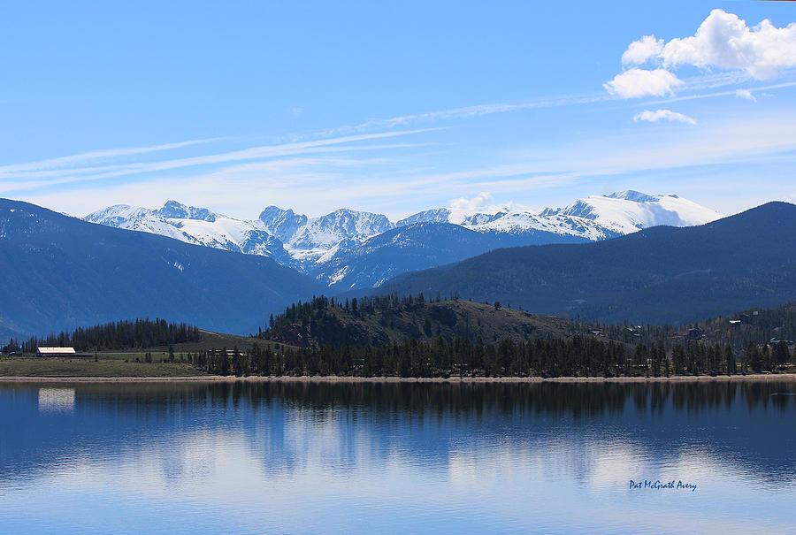 Colorado Photograph - Granby Lake by Pat McGrath Avery