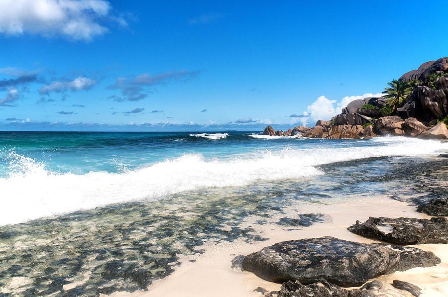 Grand Anse Photograph - Grand Anse Beach by Fabrizio Troiani