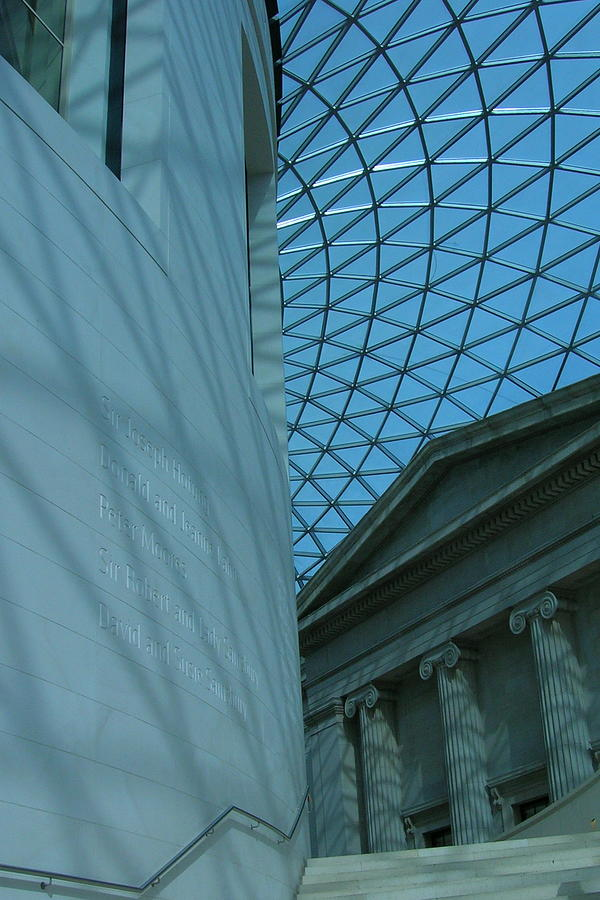 London Photograph - Grand Atrium by Jonathan Kotinek