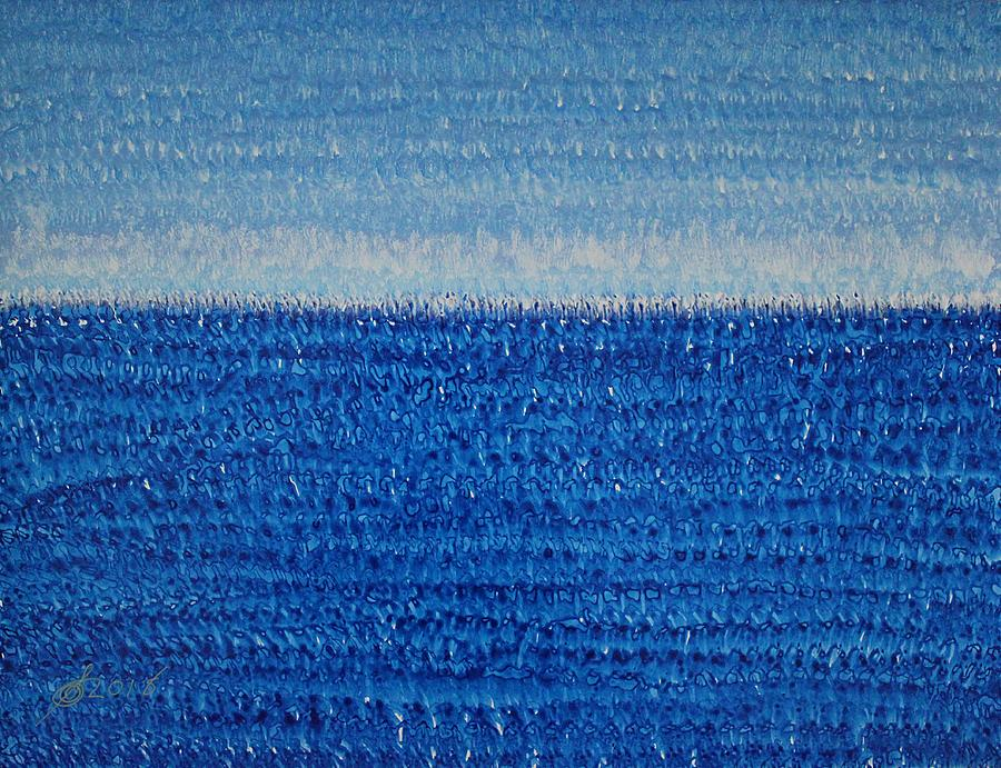 Grand Blue original painting by Sol Luckman
