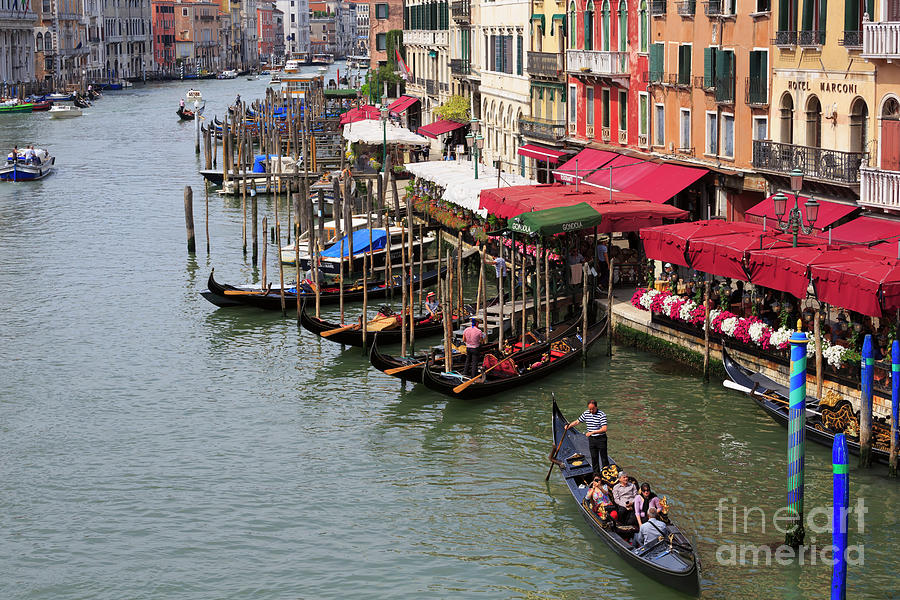 Grand Canal Photograph - Grand Canal, Venice, Italy by Louise Heusinkveld