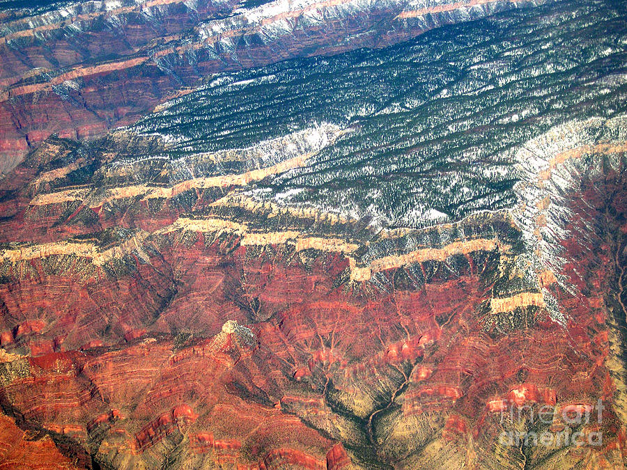 Photo Photograph - Grand Canyon 3 by Addie Hocynec