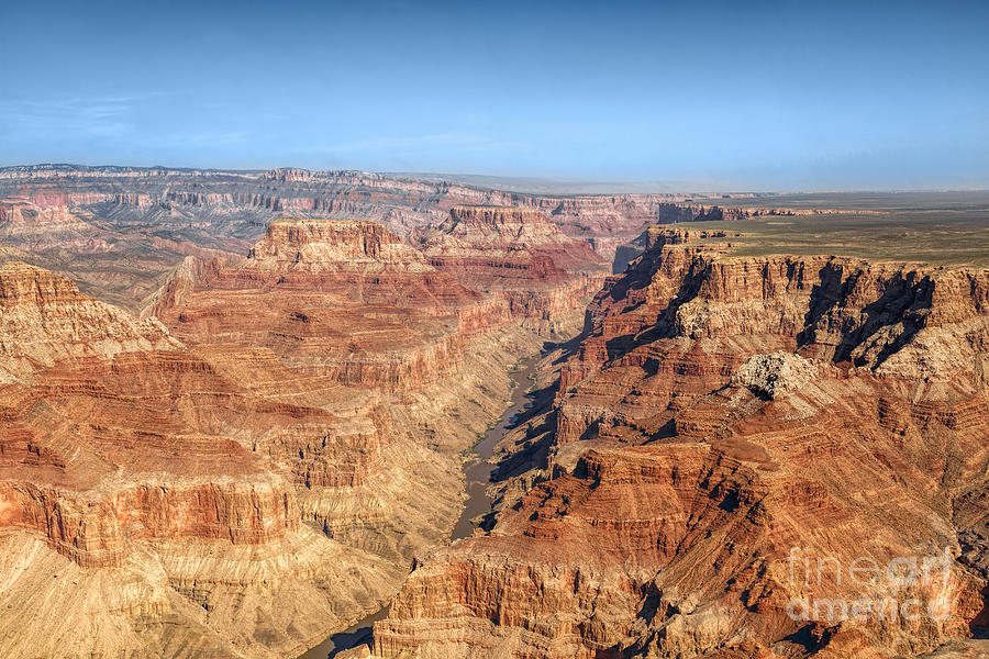 Grand Canyon Aerial View Photograph
