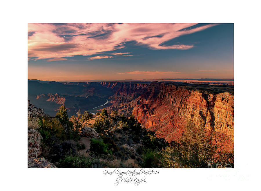Grand Canyon - Arizona 3 by Chandra Nyleen
