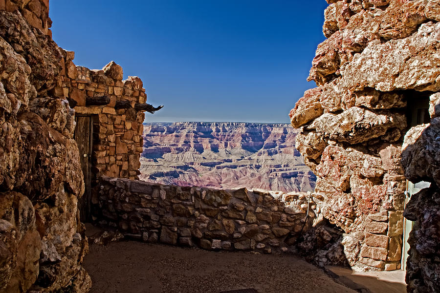 Arizona Photograph - Grand Canyon Arizona by Waterdancer