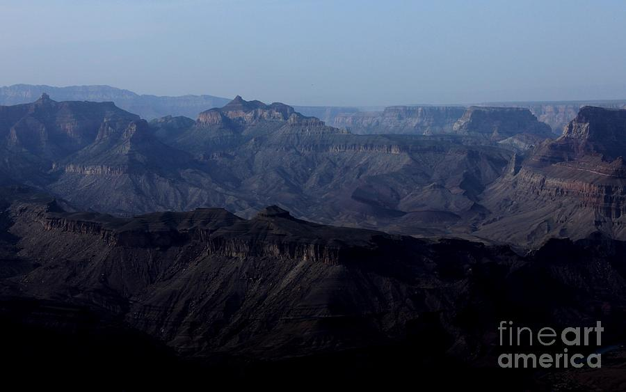 Grand Canyon Photograph - Grand Canyon At Dusk by Erica Hanel