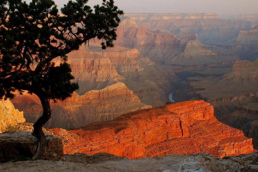 Grand Canyon Photograph - Grand Canyon At Sunrise by Stephen  Vecchiotti